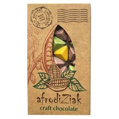 Плитка кольоровий шоколад, 70%, Afrodiziak, 80г