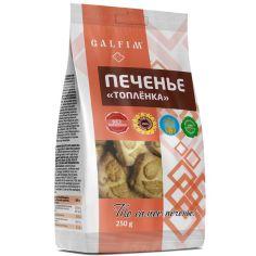 Печиво цукрове з ароматом пряженого молока, Galfim, 250г