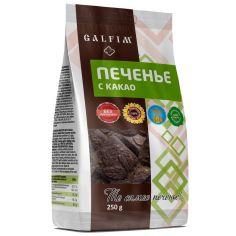 Печиво цукрове з какао, Galfim, 250г