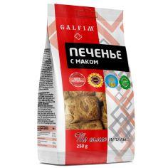 Печиво цукрове з маком, Galfim, 250г