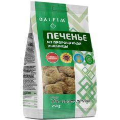 Печиво цукрове зернове з пророщеної пшениці, Galfim, 250г