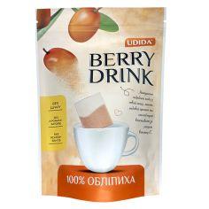 Обліпиха сушена подріблена Berry drink, Udida, 4г*12