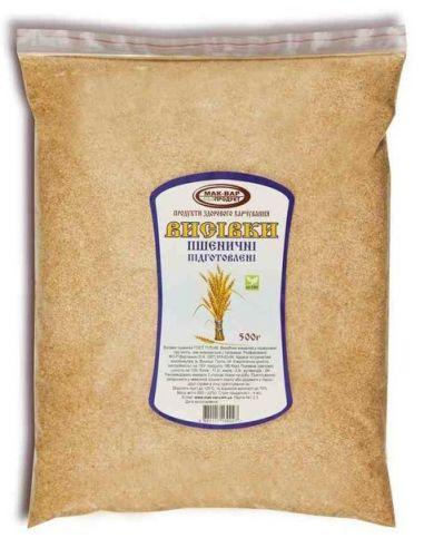 Отруби пшеничные, Здоровье, 500г.