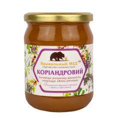 Правильний мед коріандровий, 700г