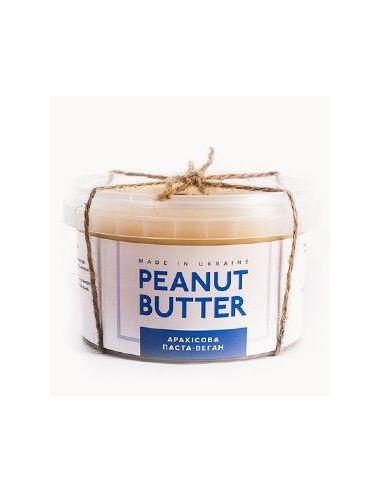Паста арахисовая веган, Peanut Butter, 280г пластик
