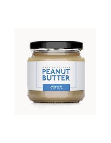 Паста арахісова Веган, Peanut Butter, скло, 180г.