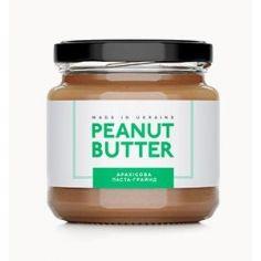Паста арахисовая грайнд, Peanut Butter, стекло, 180г