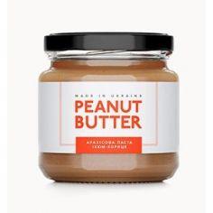 Паста арахисовая изюм с корицей, Peanut Butter, стекло, 180г