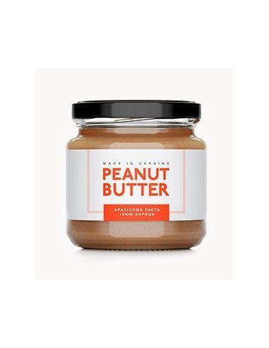 Паста арахісова родзинки з корицею, Peanut Butter, скло, 180г
