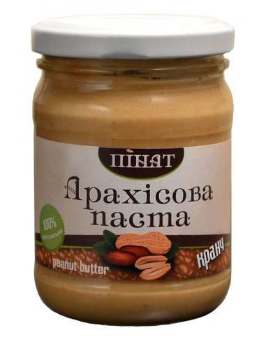 Паста арахисовая Кранч, Пинат, 250г
