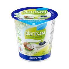 Йогурт веганський чорниця, PlantON, 160г