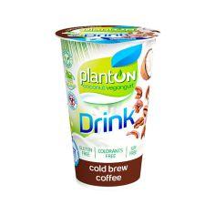 Йогурт питний веганський зі смаком кави, PlantON, 200г