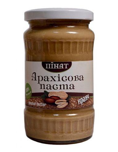 Паста арахисовая Кранч, Пинат, 370г
