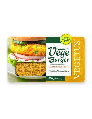 "Vege Burger ""Апетитний"", Vegetus, 2х120г"