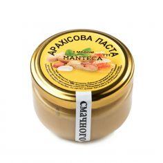Паста арахисовая с медом, Manteca, 100г