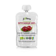 Бруснична паста LiQberry, 100г