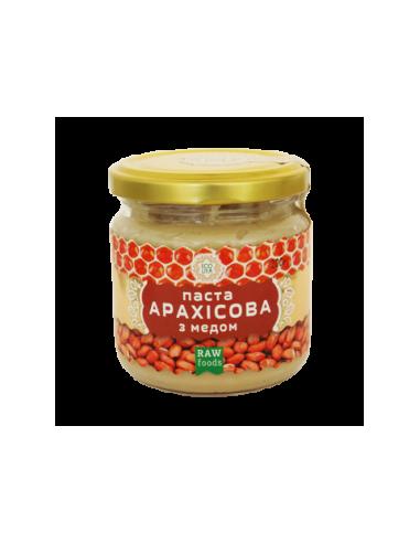 Паста арахисовая с медом, Эколия, 200г
