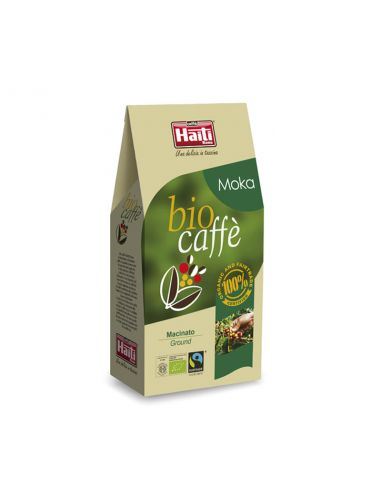 Кава обсмажена мелена, Biocaffe Moka ground, 250гр