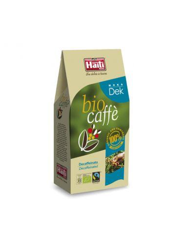 Кава обсмажена мелена без кофеїну, Biocaffe Moka Dek ground, 250гр