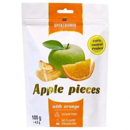Скибочки яблучні з апельсином, Spektrumix, 100г