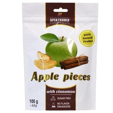 Скибочки яблучні з корицею, Spektrumix, 100г