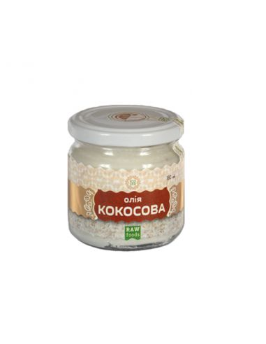 Олія кокосова, EcoLiya, 180мл