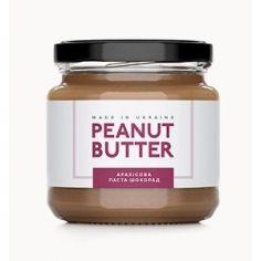 Паста арахисовая шоколад, Peanut Butter, стекло, 180г