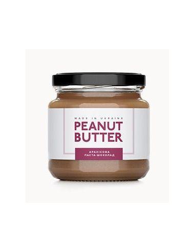 Паста арахісова шоколад, Peanut Butter, скло, 180г