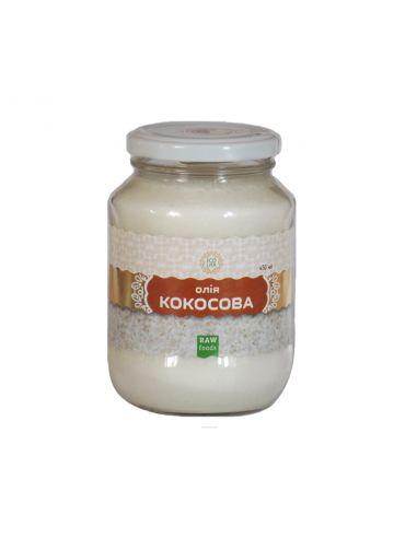 Олія кокосова, EcoLiya, 450мл