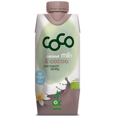 Напій кокосовий з какао органічний, Dr. Antonio Martins, 330мл