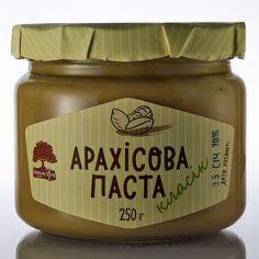 Паста арахісова класік, Інша їжа, 250г