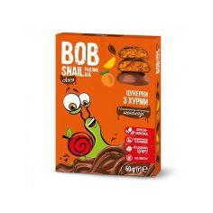 Натуральні цукерки з хурми в бельгійському молочному шоколаді bob snail (Равлик Боб), 60г