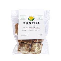 Іриски фінікові, Sunfill, 100г