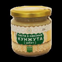 Паста з насіння кунжуту з медом та керобом, EcoLiya, 200г