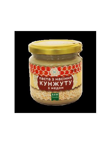 Паста з насіння кунжуту з медом, EcoLiya, 200г