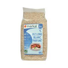 Рис довгозерний неочищений ароматний, Markal, 500 г