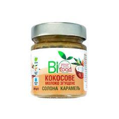 """Молоко кокосове згущене """"Солона карамель"""", Biofood, 240г"""