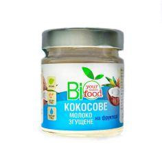 Молоко кокосове згущене, Biofood, 240г