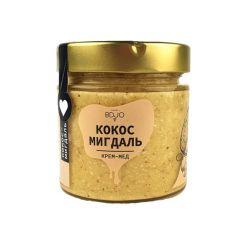 Мед кокос-мигдаль, BDJO, 300г