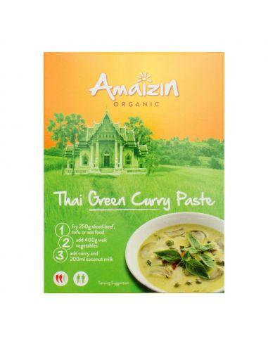 Паста индийская карри  тайская зеленая, Amaizin, 80г.