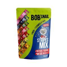 """Набір цукерок фруктово-ягідних """"Страйпи Асорті"""" bob snail (Равлик Боб),  98г"""