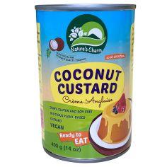 Крем заварний кокосовий, Nature's Charm, 400мл