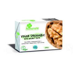 Cуміш рослинних жирів веганська 75% зі смаком волоського горіха, Naturale, 200г