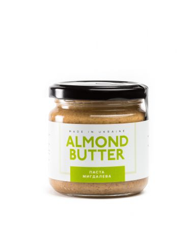 Паста мигдальна Peanut Butter, 180г