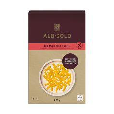 Макарони кукурудзяно-рисові Fusilli (безглютенові), ALB-GOLG, 250г