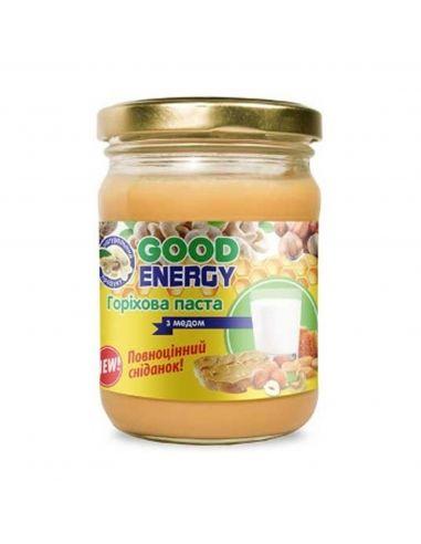 Паста ореховая с медом, GoodEnergy, 180г