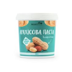 Паста арахісова класична, Manteca, 500г