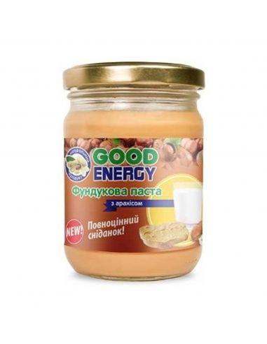 Паста із фундука з арахісом, GoodEnergy, 250г