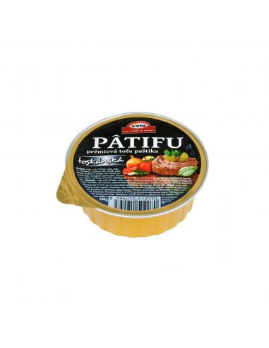 Паштет из тофу тосканский, Patifu,100г