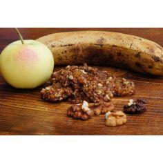 """Печенье """"Яблочно-банановое с грецким орехом"""", Сыроед, 100г"""